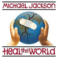 Heal The World became one of Michael Jackson's most memorial philanthropic songs
