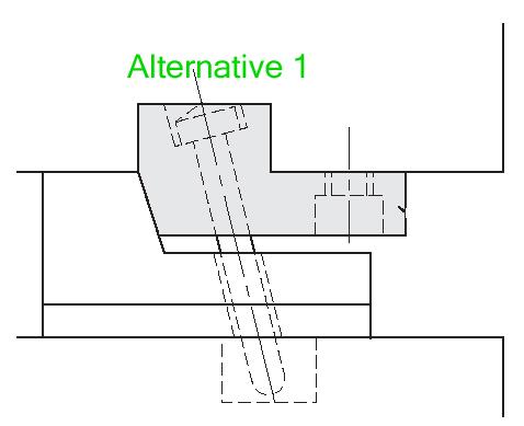 Locking Block With Angular Slider ~ Injection Mold Design Tutorial