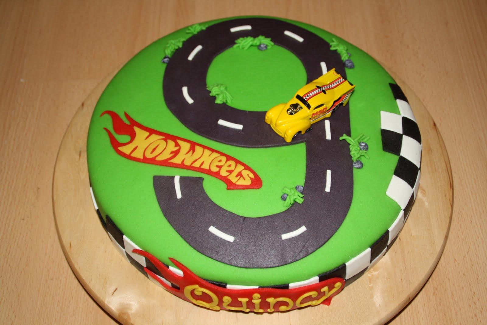 Geliefde Karin's Taarten: Hotwheels taart #MP12