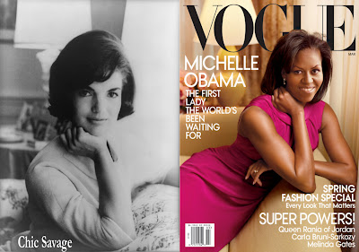 Chic Savage: Jacqueline Kennedy Onassis Redux, I don't Think so