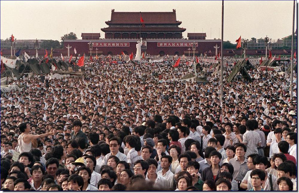 Tiananmen Square 25 years on: 'Every person in the crowd was a victim of the massacre'