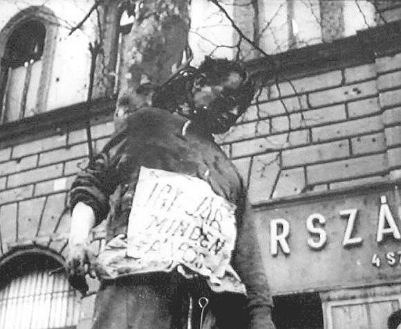 Будапешт,1956 год,казнь сотрудников госбезопасности.