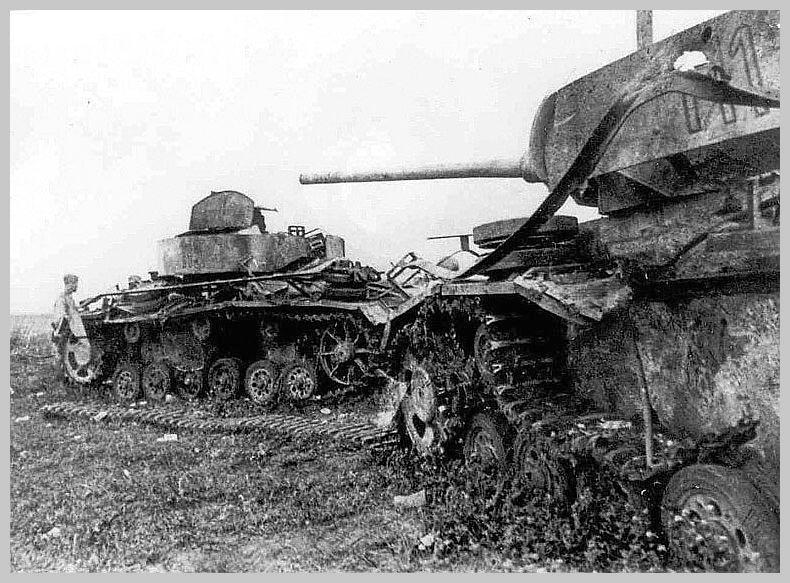 Destroyed German...T 34 Tank Stalingrad