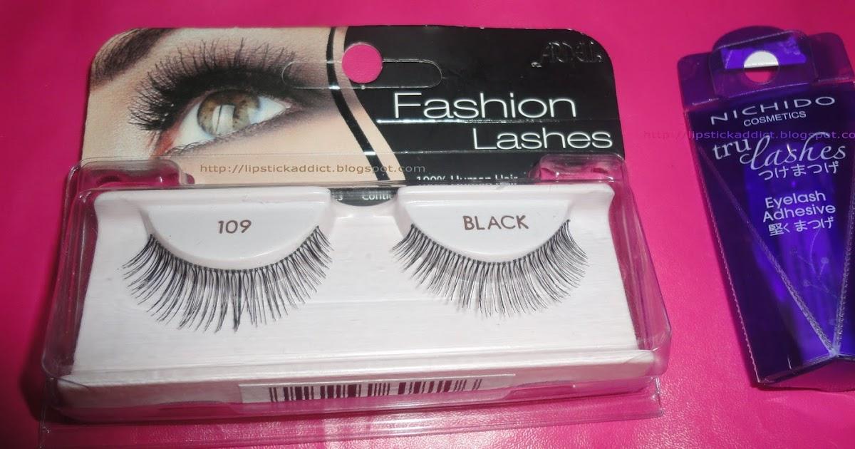 97d49b7c959 Ardell Fashion Lashes 109 Black , Brow & Lash Growth Accelerator & Nichido  Tru Lashes Eyelash Adhesive | Lipstick Addict - Beauty Reviews and More!