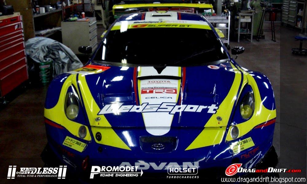 DRAGandDRIFT: WEDS SPORTS GT300 CELICA