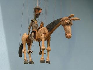 Marioneta de Don Quijote