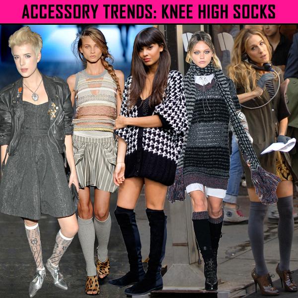 8a65b1196e1 Dazzle and Sizzle  Accessory trends   High socks