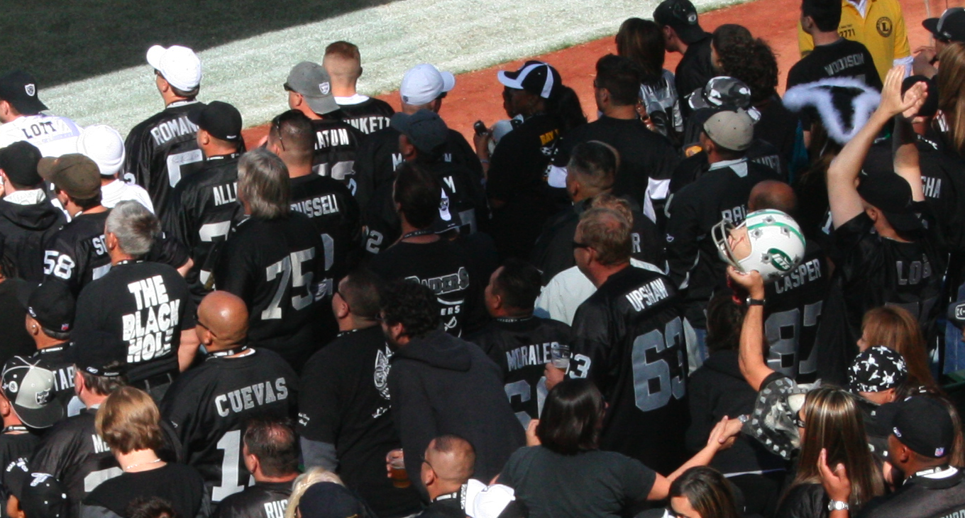 Oakland Raiders Black Hole Section (page 2) - Pics about space