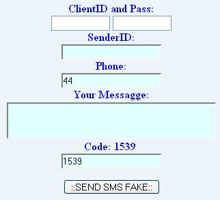 Free send fake sms - bulk sms | trial register on smsgateway