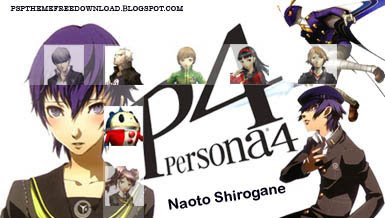 PSP Themes Free Download: Naoto Persona4 PSP Theme