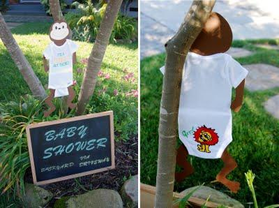 Decoracion De Baby Shower De Animales.Baby Shower En La Selva Lacelebracion Com