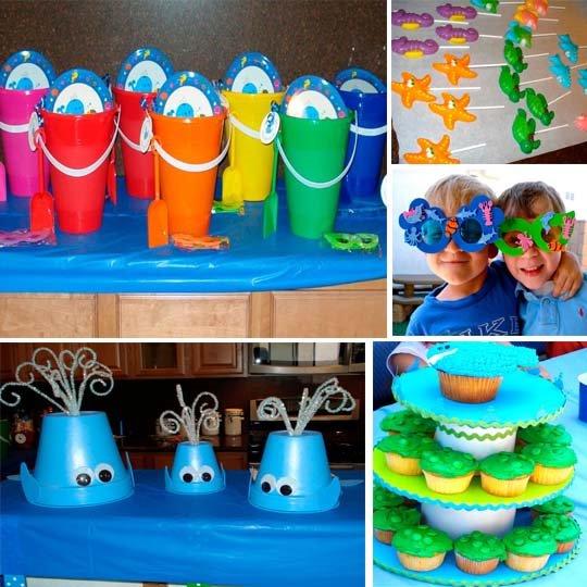 Decoraci n para fiestas marinas - Ideas fiestas tematicas ...