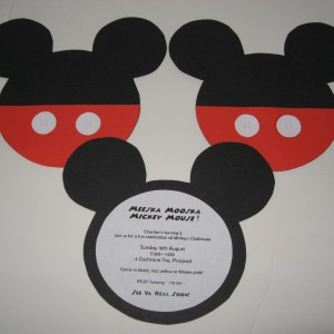 Mickey Mouse Clubhouse Invitation Wording is amazing invitations ideas