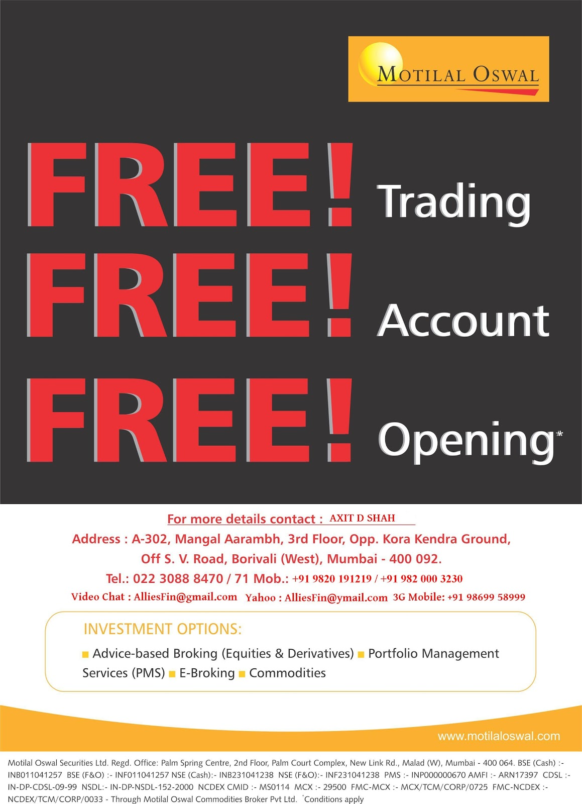 Motilal Oswal Demat Account - Find Opening Process