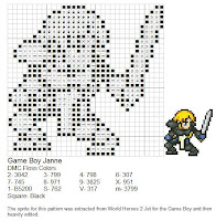 Dork Stitch: Cross Stitch Patterns From Mediocre to Bad Game Boy