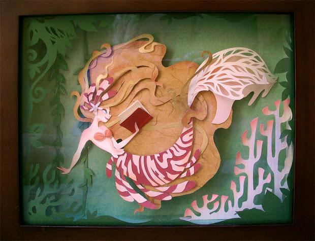 Brittney Lee Paper Mermaid