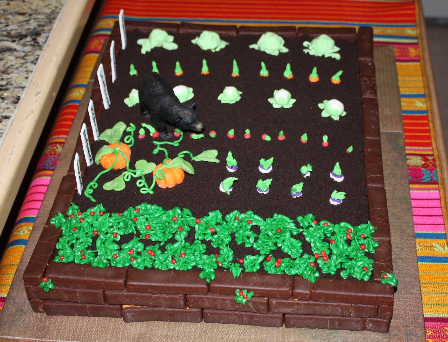 Beni Cakes Happy Birthday To My Gardening Friend