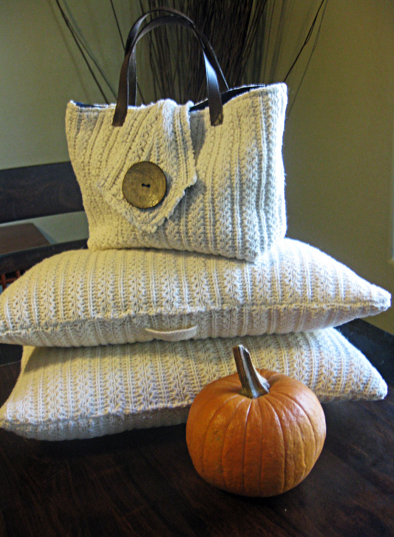 Sew Over It Sweater Upcycle Thrifty Fall Decor