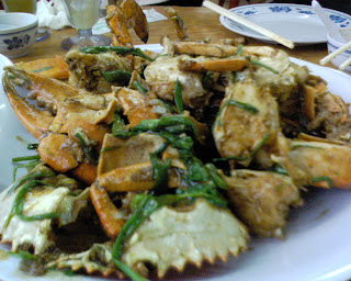 White Pepper Crab from No Signboard Restaurant