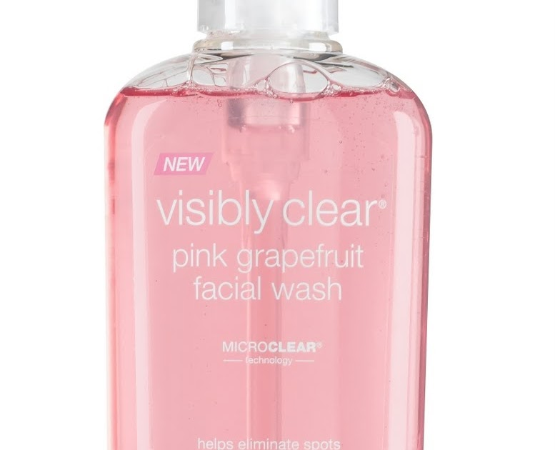 Biancas Beauty Blog Neutrogena Visibly Clear Pink Grapefruit