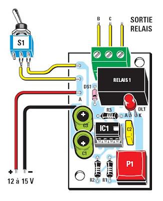 temporisateur electronique 12v