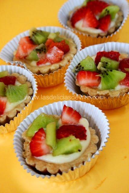 receta de tarta de frutas