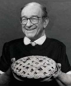 Alan Greenspan the patron saint of easy money