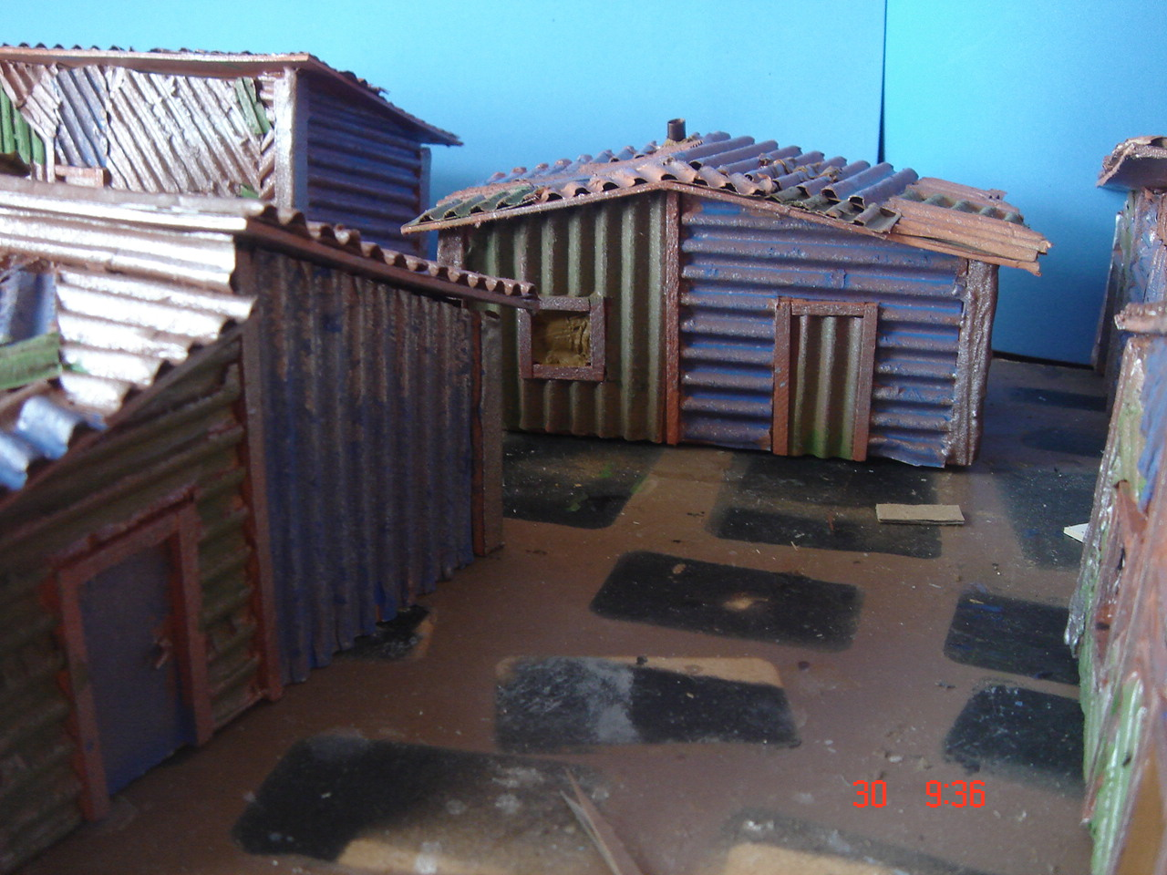 Dispatches From The Front Pip 40k Ork Shanty Town
