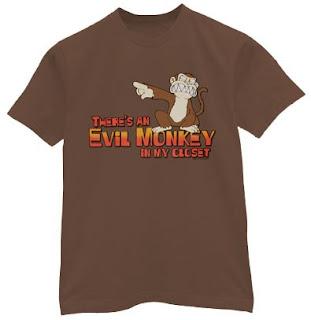 Evil Monkey Tee