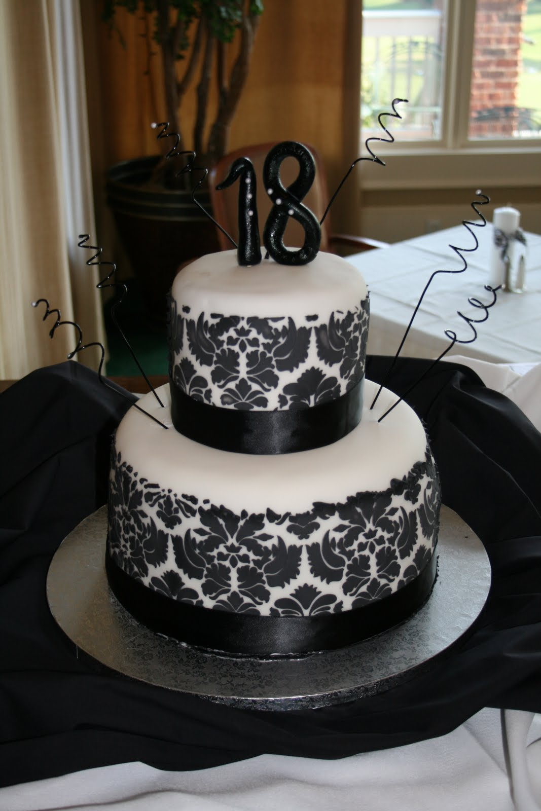 18th birthday cake ideas ideas on damask baby showers the 1033