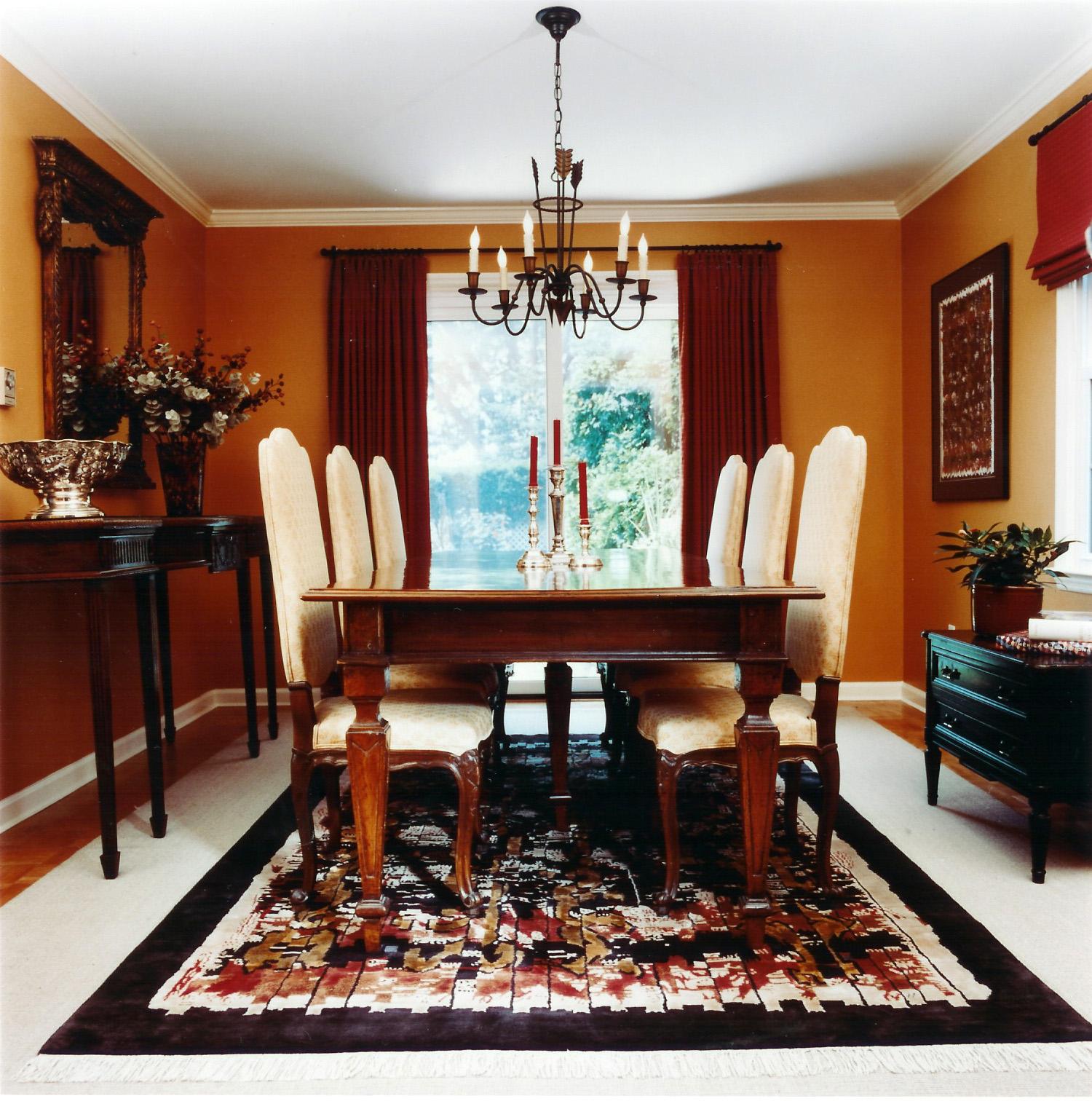 Interior designing home decoration - Dining room rug ideas ...