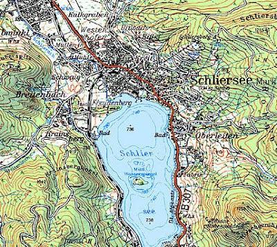 Topographische Karte Bayern.Landkartenblog Blattschnitt Topographische Karte Von Bayern 1