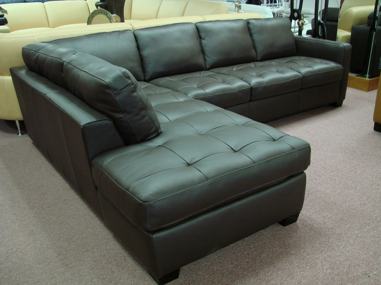 Buy natuzzi design products comfortably at home. Natuzzi Leather Sofas & Sectionals by Interior Concepts ...