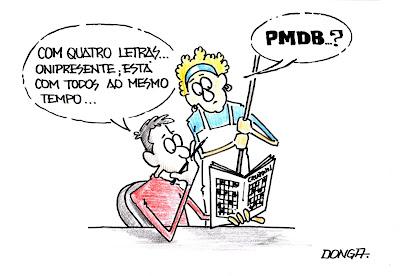 Resultado de imagem para pmdb e sua conveniências charge