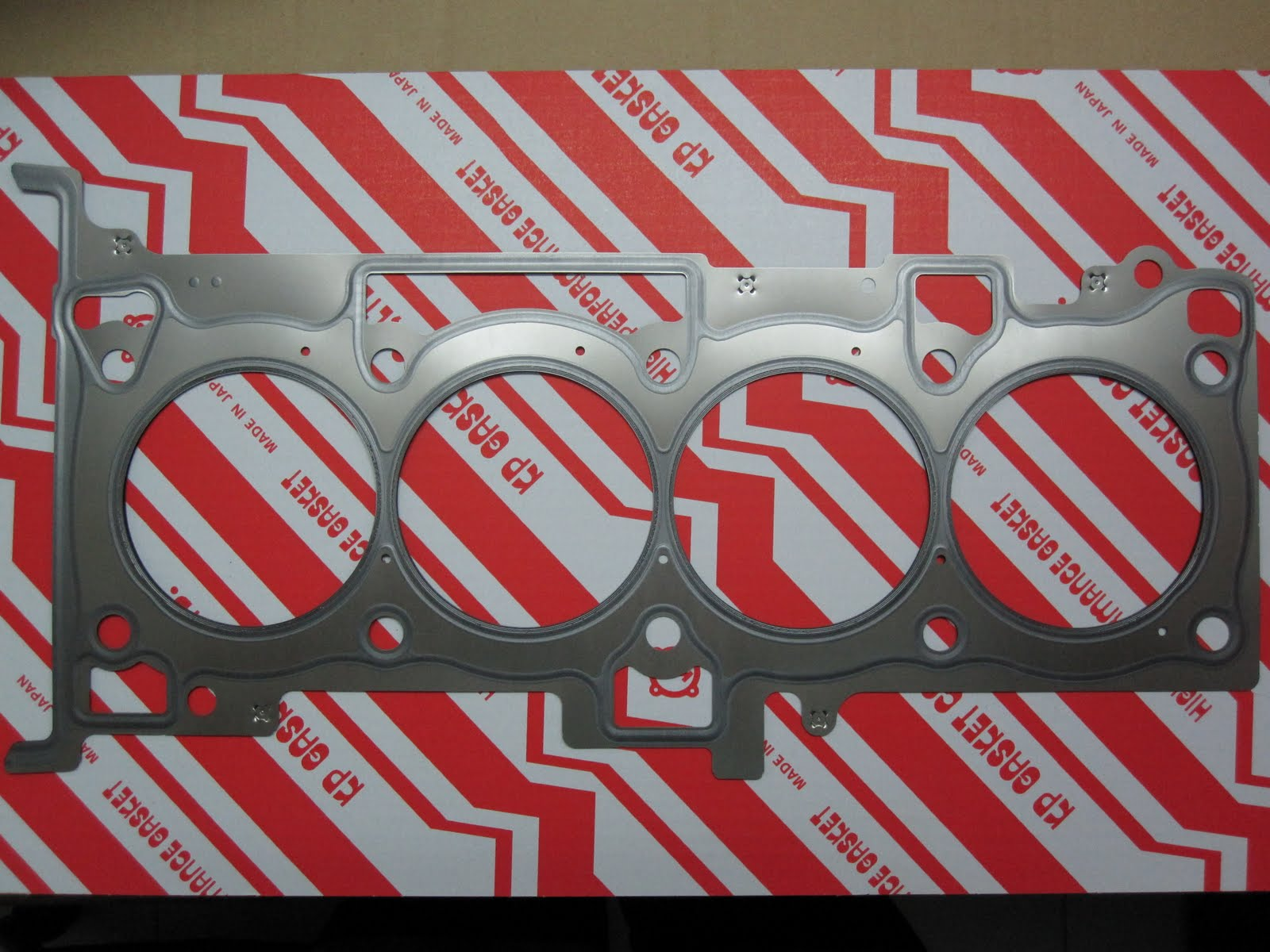 hight resolution of mitsubishi 4b11 and 4b12 cylinder head gasket