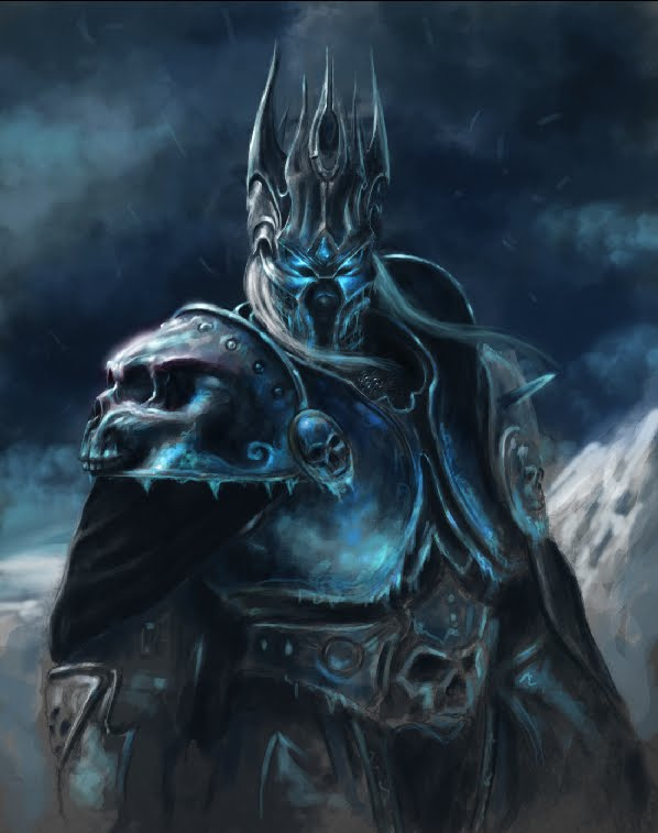 Fall Of The Lich King Wallpaper Arthas The Art Of Eric Braddock