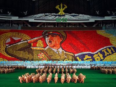Jag upphör aldrig att förundras över det stalinistiskt auktoritära och näst  intill hermetiskt slutna landet Nordkoreas