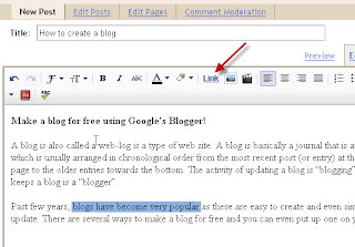 Blogger Blogging Tips: How to open link in new window