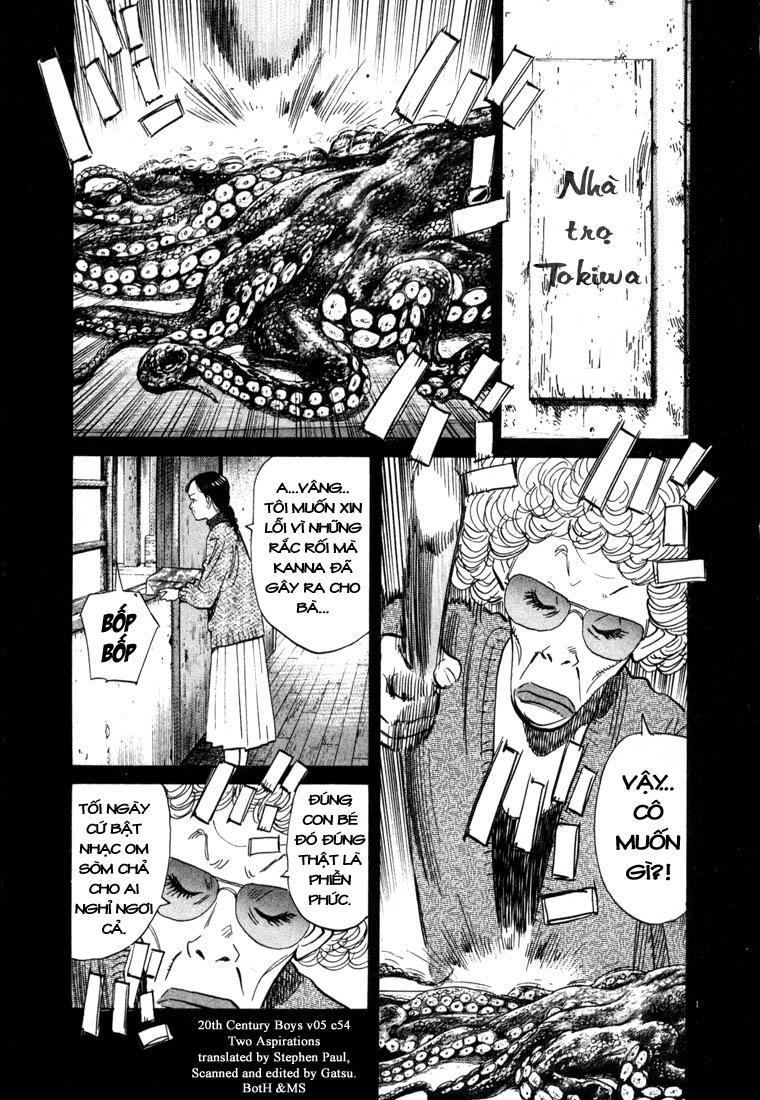 20th Century Boys chapter 54 trang 3