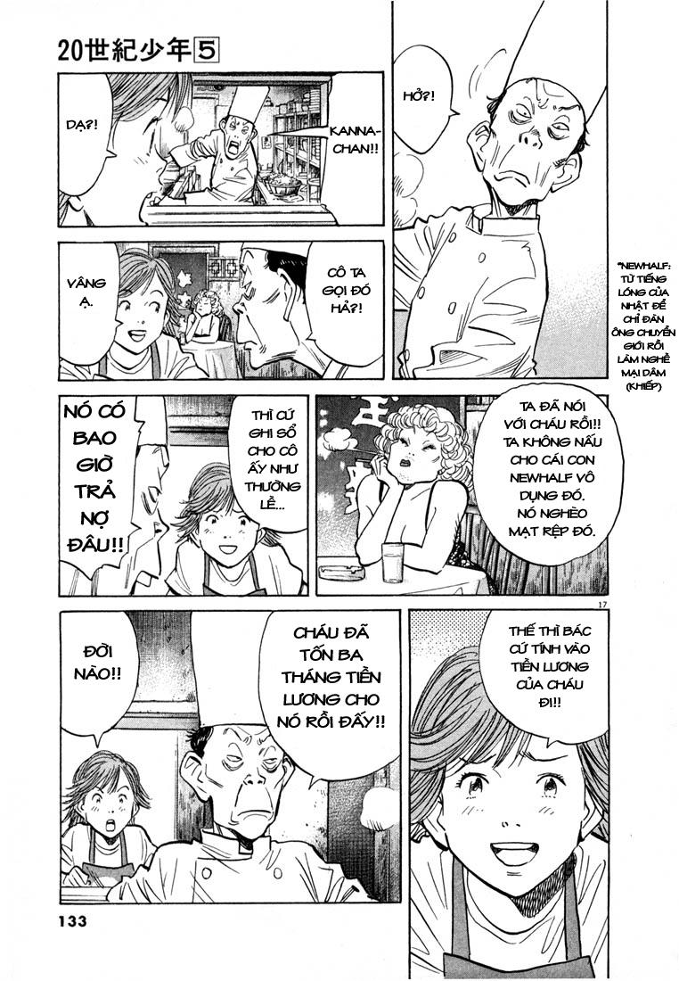 20th Century Boys chapter 50 trang 35