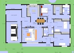 Diário da nossa casa: Plano de la casa 2