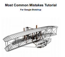 SketchUp Plugins and Blog: SketchUp Most Common Mistakes PDF