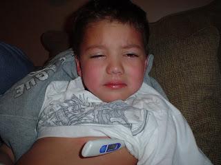 The Hock Family: My Baby Has Strep Throat!
