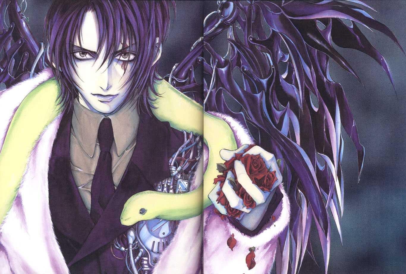 Anime Angel and Demon wallpaper 1080p (1366 x 923 ...
