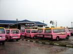 teksi van pink