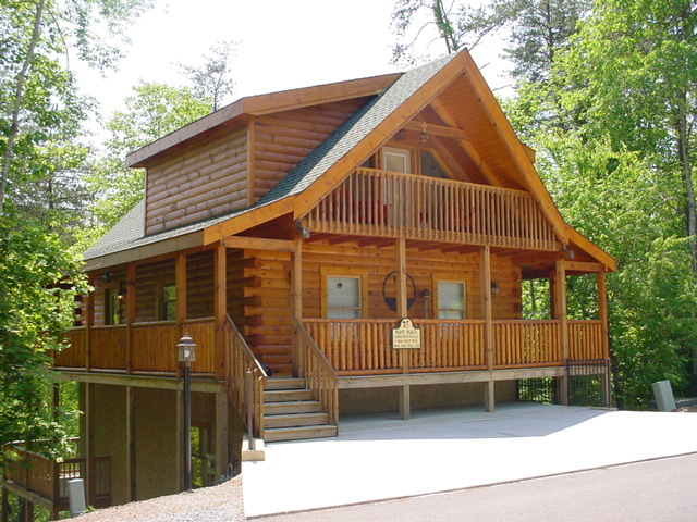 History of log cabins in the united states smoky for Smoky mountain tennessee cabin rentals