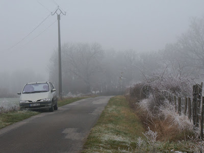 Fog and Frost near Preuilly sur Claise