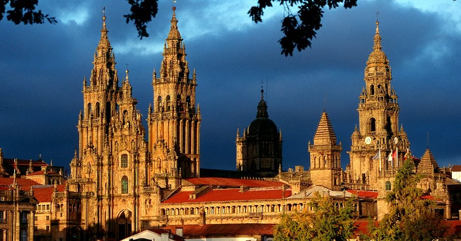 Todo Arte Arte Románico Español Arquitectura Catedral De Santiago De Compostela