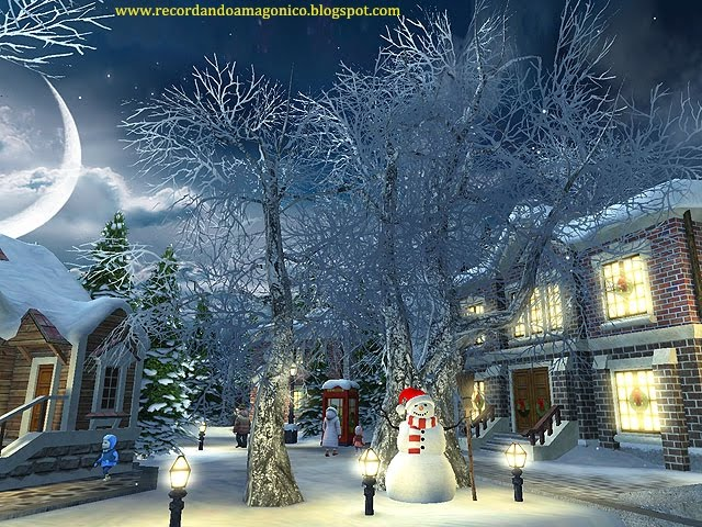Falling Snow Live Wallpaper Tutorial 3planesoft Snow Village 3d Screensaver V1 1 0 3 El Blog