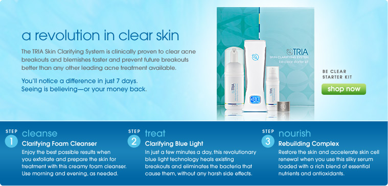 Best Things In Beauty Tria Beauty S Skin Clarifying System